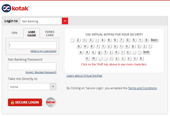 KMB Login Method 2