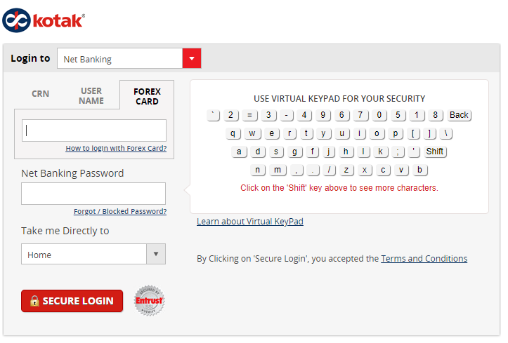 KMB Login Method 3