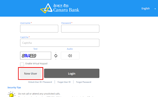 Canara Bank Registration 3