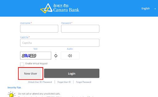 Canara Bank Registration 3
