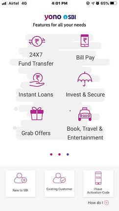 SBI Mobile Register 4