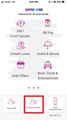 SBI Mobile Register 5