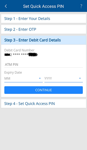 HDFC Mobile Register 7
