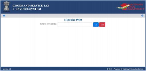 print e-invoice