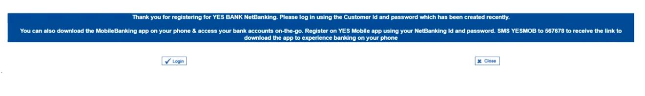 Yes Registration 10