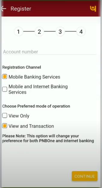 PNB Registration 4