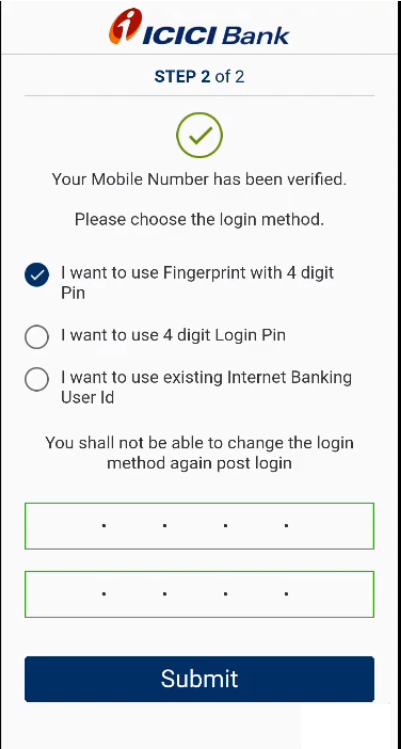 ICICI Registration 6
