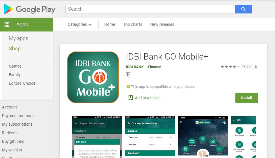 IDBI Registration 1