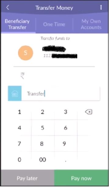 IndusInd Transfer 5
