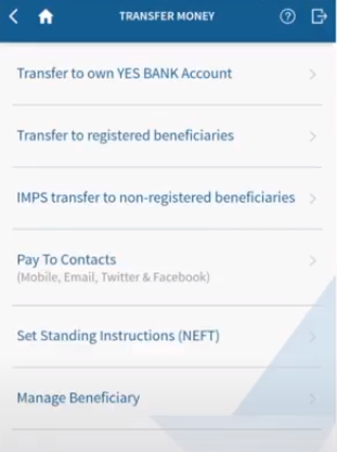 Yes Bank Transfer 2