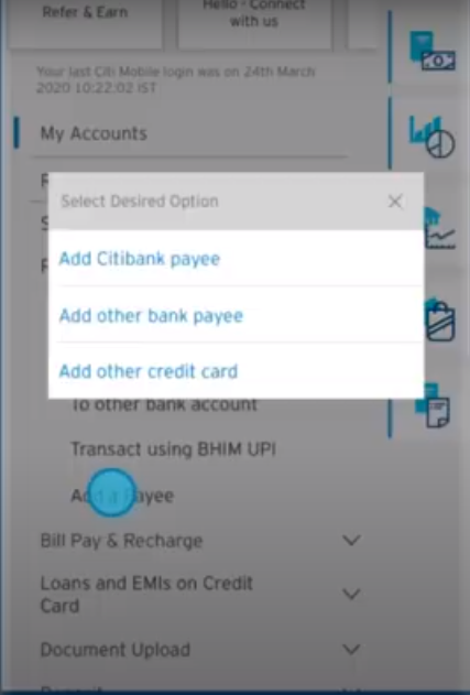 Citi Mobile Transfer 4