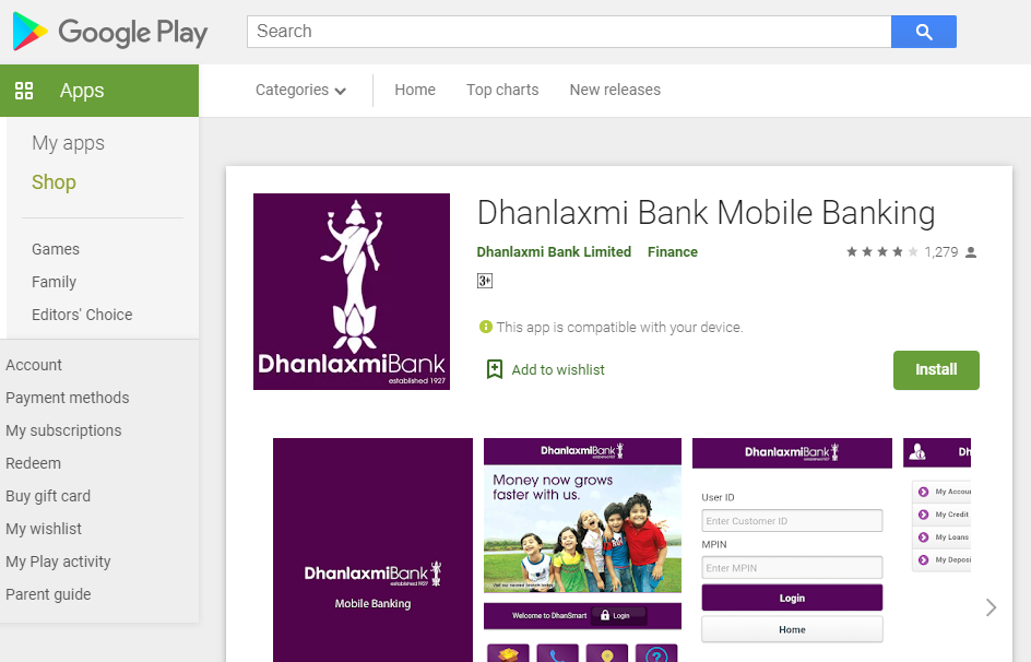 Dhanlaxmi Bank Register 1
