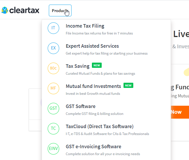 cleartax all-in-one tax software