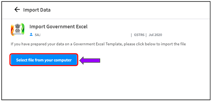gstr-6 using cleartax