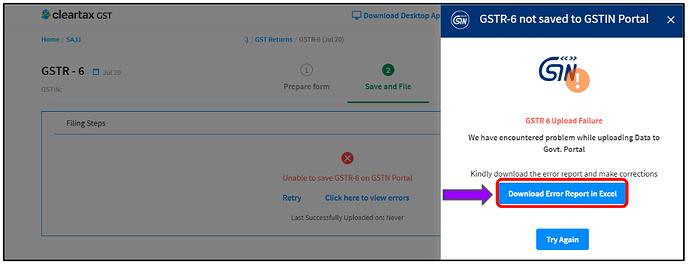 gstr-6 using cleartax