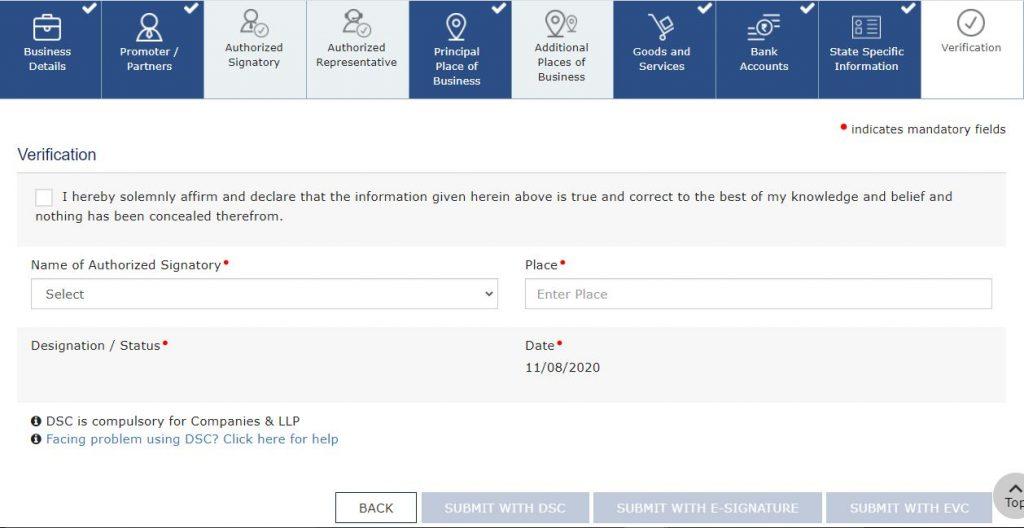 change mobile number gst portal (4)