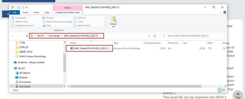 Modify e-invoice in GSTR-1 (8)