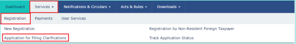 GST Registration cancelled