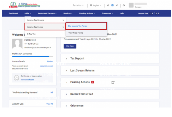 File Income Tax Forms